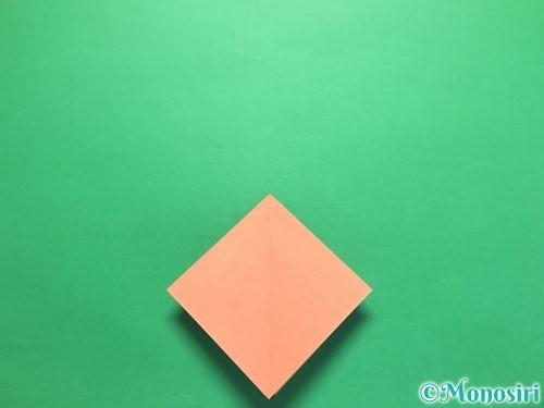 折り紙で立体的なかたつむりの折り方手順8
