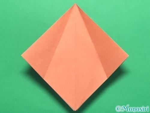 折り紙で立体的なかたつむりの折り方手順10