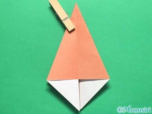 折り紙で立体的なかたつむりの折り方手順27