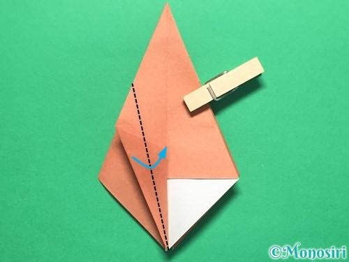 折り紙で立体的なかたつむりの折り方手順30