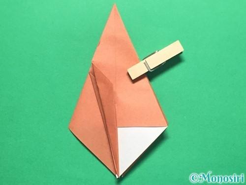 折り紙で立体的なかたつむりの折り方手順31