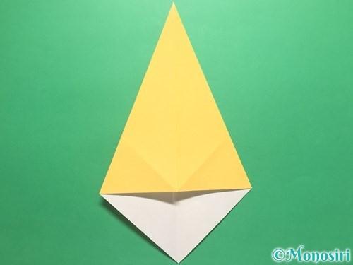 折り紙で傘の折り方手順4