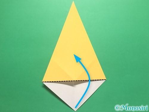 折り紙で傘の折り方手順5