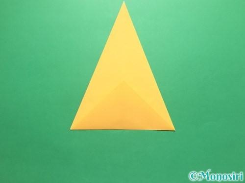 折り紙で傘の折り方手順6