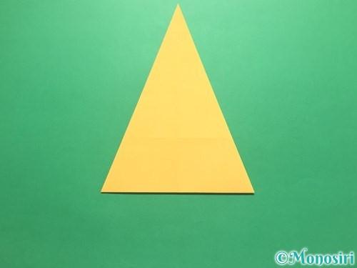 折り紙で傘の折り方手順7