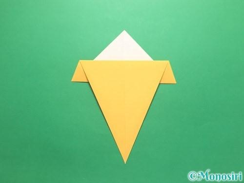 折り紙で傘の折り方手順9