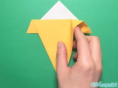 折り紙で傘の折り方手順11