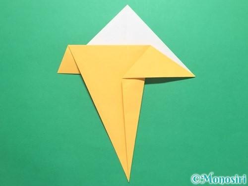 折り紙で傘の折り方手順13