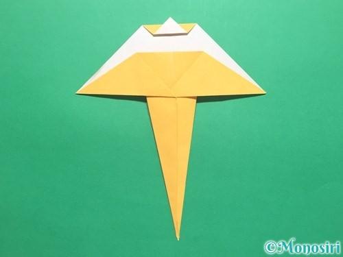 折り紙で傘の折り方手順17