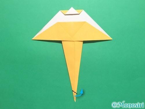 折り紙で傘の折り方手順18