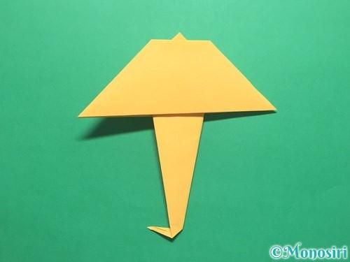 折り紙で傘の折り方手順20