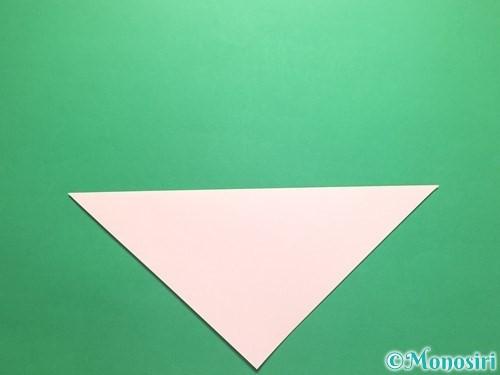 折り紙でお正月リースの作り方手順2