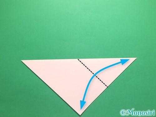 折り紙でお正月リースの作り方手順3