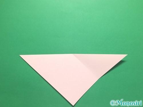 折り紙でお正月リースの作り方手順4
