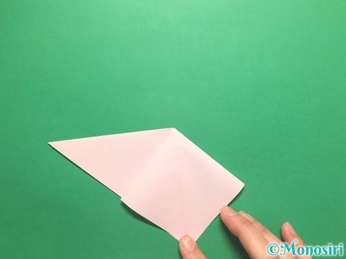 折り紙でお正月リースの作り方手順7