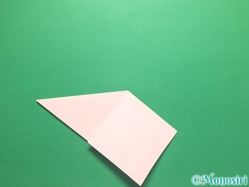 折り紙でお正月リースの作り方手順8