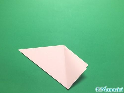 折り紙でお正月リースの作り方手順10