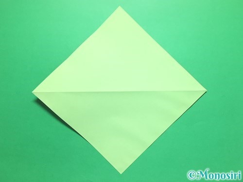 折り紙で簡単なイチゴの折り方手順3