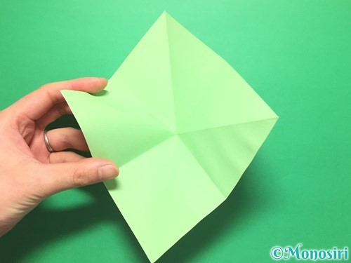 折り紙で簡単なイチゴの折り方手順6