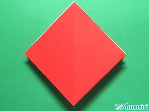 折り紙で簡単なイチゴの折り方手順15