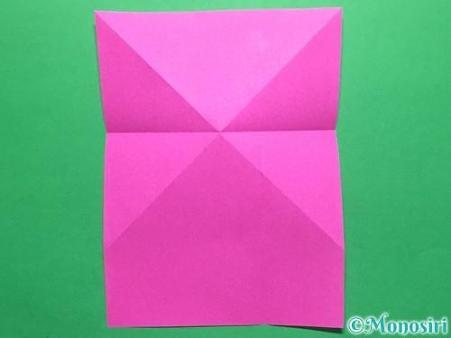 折り紙でいちごの手紙の折り方手順10