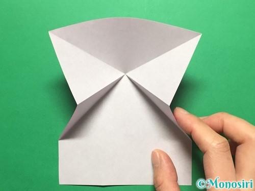 折り紙でいちごの手紙の折り方手順12