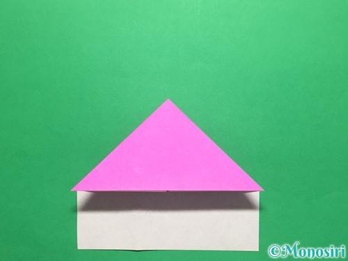 折り紙でいちごの手紙の折り方手順14