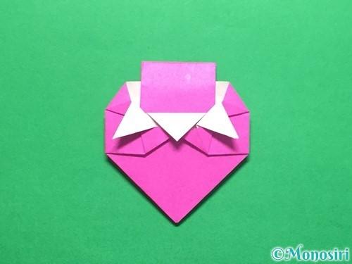 折り紙でいちごの手紙の折り方手順41