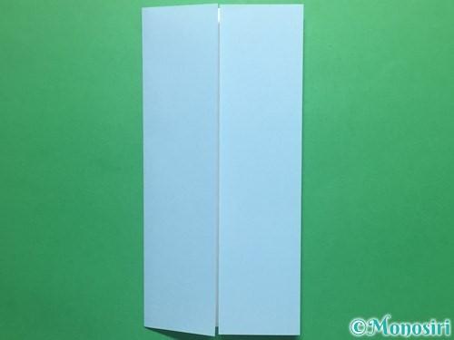 折り紙で簡単なてるてる坊主の折り方手順4
