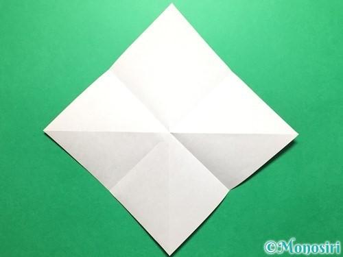 折り紙で立体的ないちごの作り方手順5