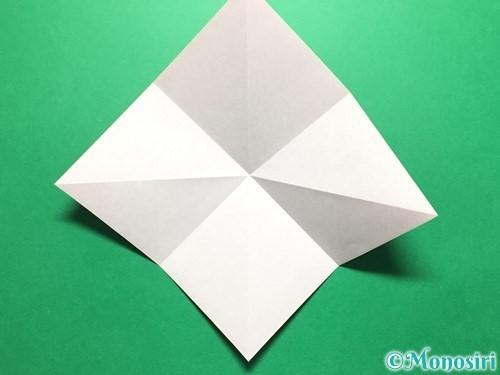 折り紙で立体的ないちごの作り方手順6