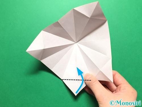 折り紙で立体的ないちごの作り方手順26