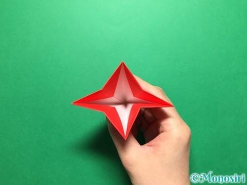 折り紙で立体的ないちごの作り方手順33