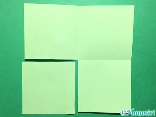 折り紙で立体的ないちごの作り方手順41