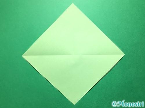 折り紙で立体的ないちごの作り方手順43