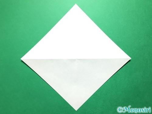 折り紙で立体的ないちごの作り方手順44