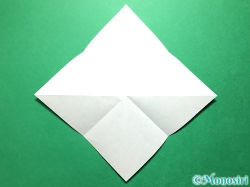 折り紙で立体的ないちごの作り方手順46