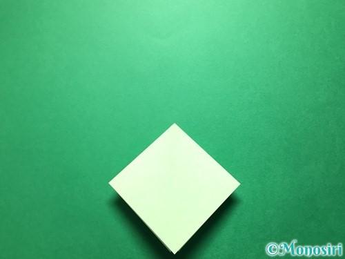 折り紙で立体的ないちごの作り方手順49
