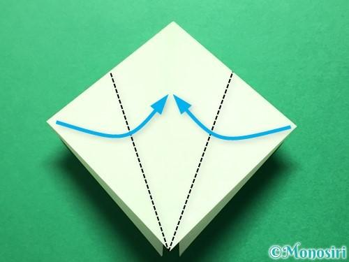折り紙で立体的ないちごの作り方手順50