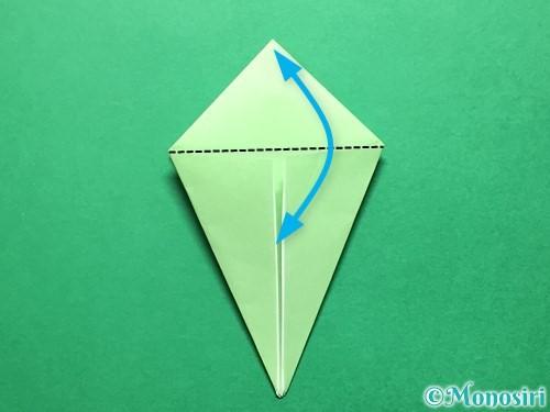 折り紙で立体的ないちごの作り方手順53