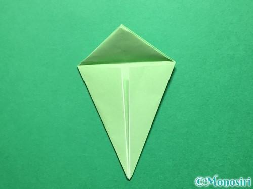折り紙で立体的ないちごの作り方手順54