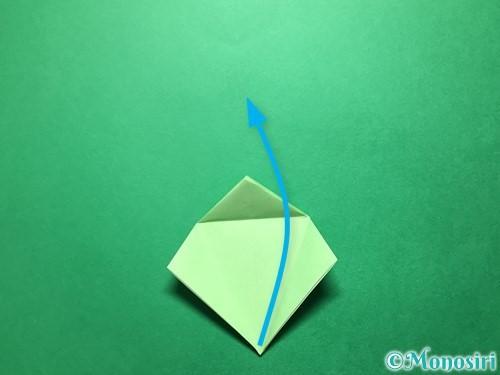 折り紙で立体的ないちごの作り方手順56
