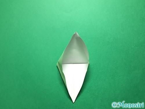 折り紙で立体的ないちごの作り方手順58