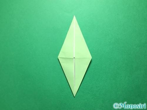 折り紙で立体的ないちごの作り方手順60