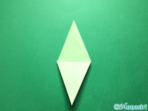 折り紙で立体的ないちごの作り方手順62
