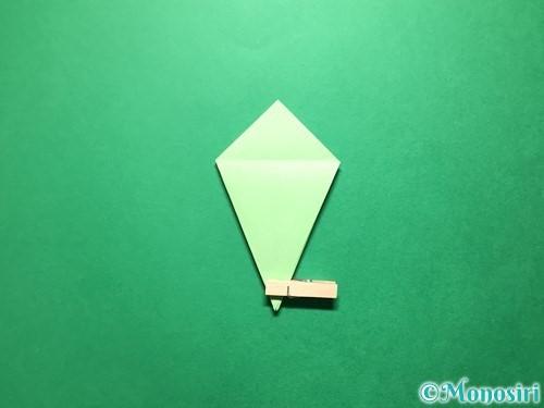 折り紙で立体的ないちごの作り方手順63