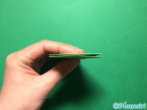 折り紙で立体的ないちごの作り方手順64