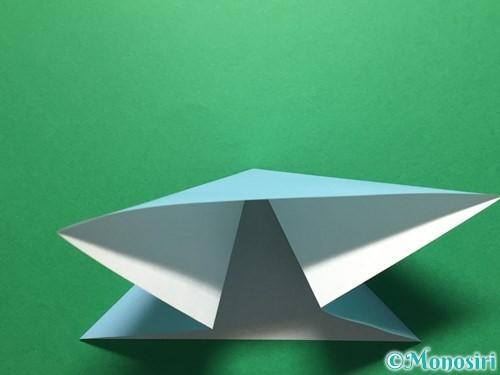 折り紙で立体的なてるてる坊主の折り方手順7