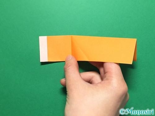 折り紙でレインブーツの折り方手順15
