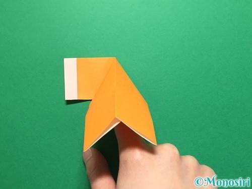 折り紙でレインブーツの折り方手順16